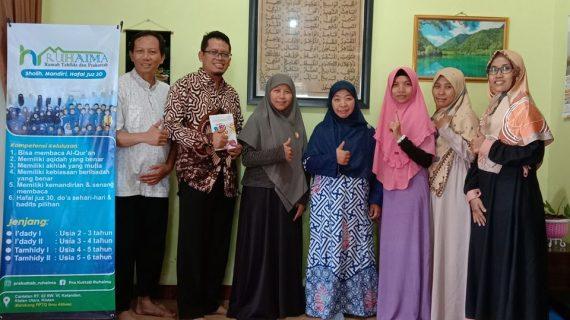 inhouse training program Fundraising wakaf uang untuk yayasan pendidikan bersama Yayasan Wakaf Mulia sukses terlaksana di yayasan Ruhaima Klaten